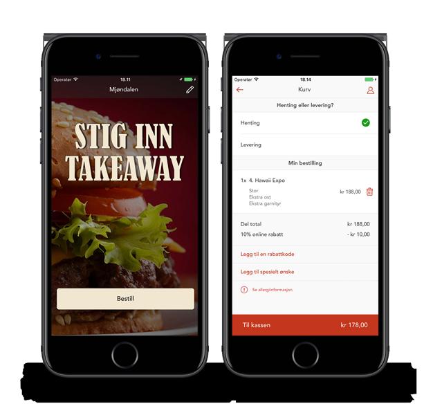 Stig Inn Mjøndalen - Takeaway app